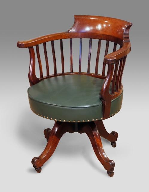 antique swivel desk chair uk antique swivel office chair