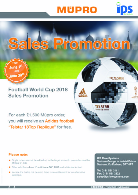 Mupro World Cup Promotion from IPS Flow Systems