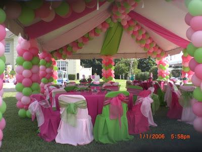 Dekorasi balon ulang tahun, wedding, dan Sweet seventeen 17