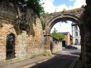 Hexham Abbey Gate