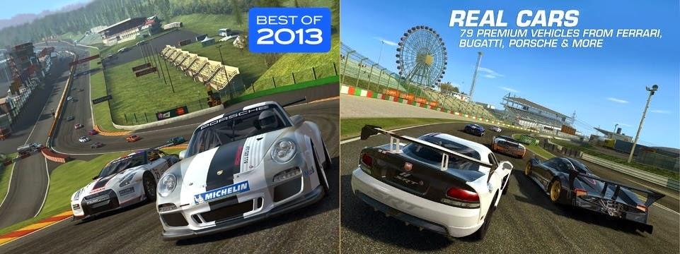 Real Racing 3 for iPhone ipad