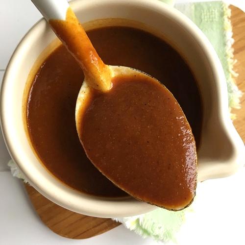 Currywurstsauce mit Cola und Apfelmus