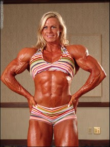 Christine Roth female bodybuilding