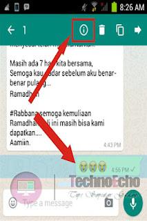 cara mengetahui siapa saja yang membaca pesan di whatsapp group