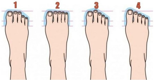 Here's What The Shape Of Your Feet Reveals About Your Personality.