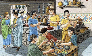 le prime birrerie della storia italiana dell'antica roma