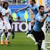 Statistik Hasil Pertandingan Uruguay vs Arab Saudi - Piala Dunia 2018 Grup A