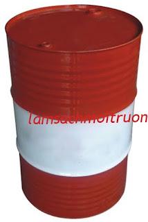 Thùng phuy sắt nắp kín, thùng phuy 220l, vỏ thùng phuy sắt giá rẻ