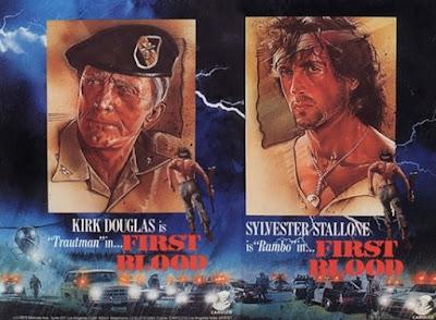 Kirk Douglas en Rambo Acorralado