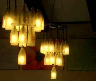 Lampu Hiasan Kitar Semula