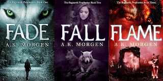 Now Available! Flame (The Ragnarök Prophesies, #3) by A.K. Morgen 4