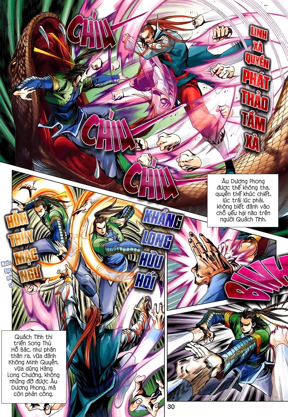 Anh Hùng Xạ Điêu anh hùng xạ đêu chap 56: tuyệt tình vô nghĩa lãnh huyết ác niệm trang 30