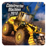 لعبة Construction Machines 2016