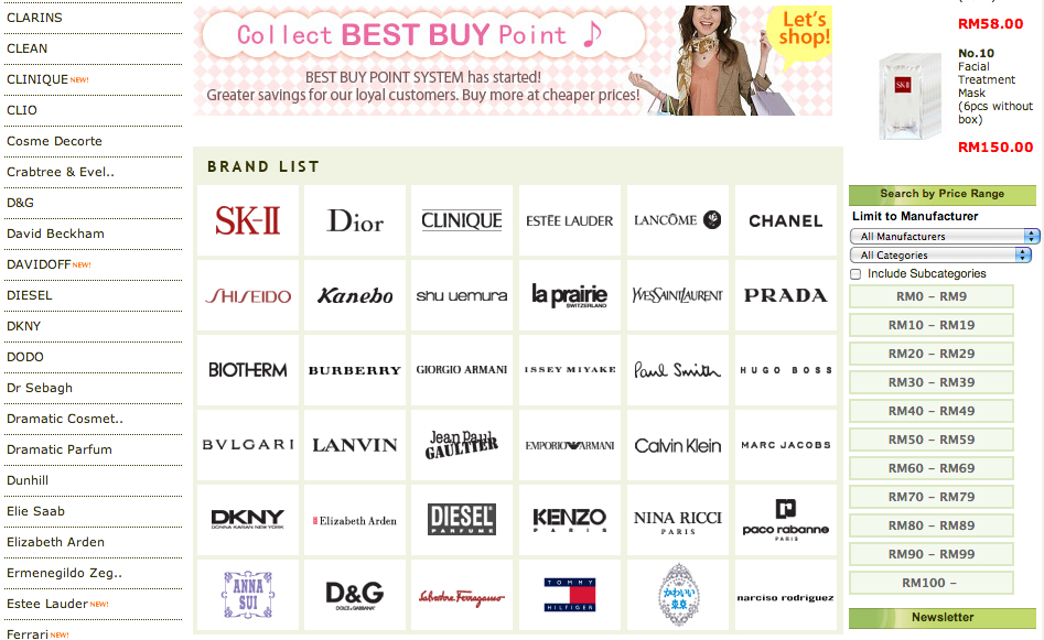 Guarantee International Website That S Original Products From Over 10 000 Beauty Brands In Asia Namely