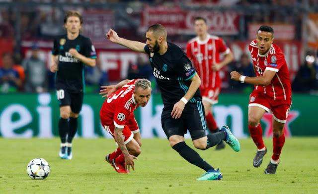 بث مباشر مباراة ريال مدريد وبايرن ميونخ