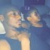 Adorable photo of 2face and daughter Olivia watching TV