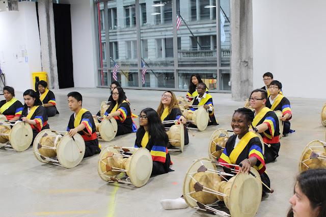 HANA Korean drumming © Chicago Cultural Alliance