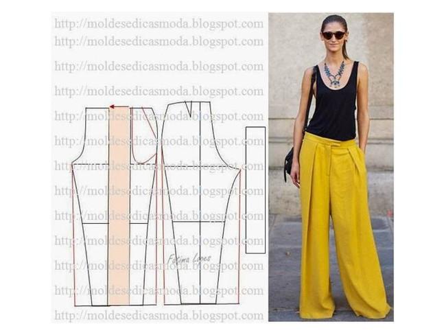 FREE  les 14 meilleures idées couture pantalon femme Bettinael ... 0eb585c0735