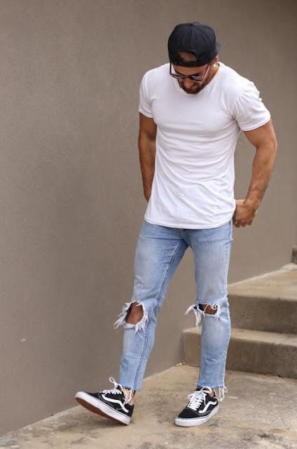 calças jeans rasgada masculina (4)
