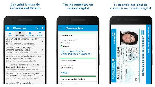 Nueva Licencia Nacional de Conducir digital esta disponible en la App Mi Argentina