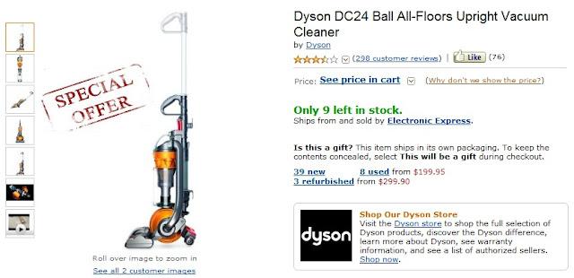 dyson vacuum coupons dyson dc24 coupon. Black Bedroom Furniture Sets. Home Design Ideas