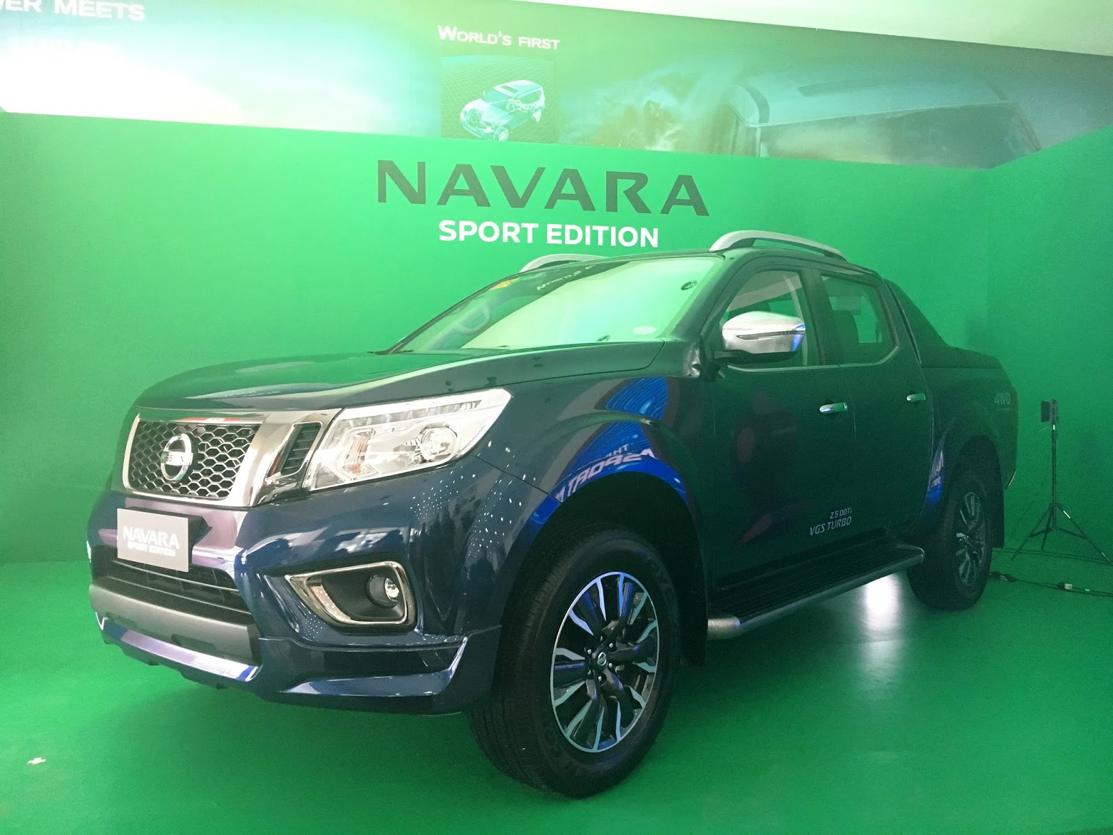 First look at the new Nissan Navara Sports Edition