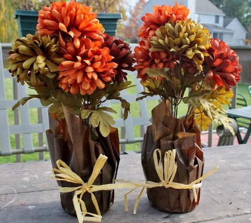 Festive fall wreath
