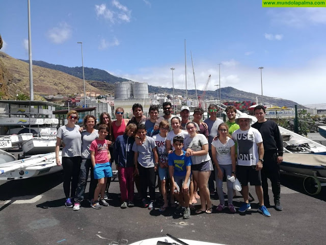 El Cabildo de La Palma y la Federación Canaria de Vela inician las actividades formativas de este deporte