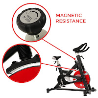 Sunny Health & Fitness SF-B1714 Indoor Cycle magnetic resistance, image