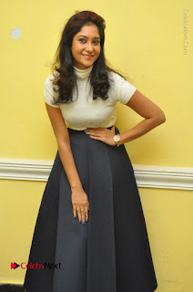 Telugu Actress Sindhu Affan Latest Pos in Black Skirt at Www.Meena Bazaar Movie Opening  0008.JPG