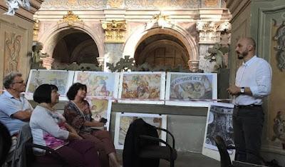 Рестаратори у  Гарнізонному храмі святих апостолів Петра і Павла