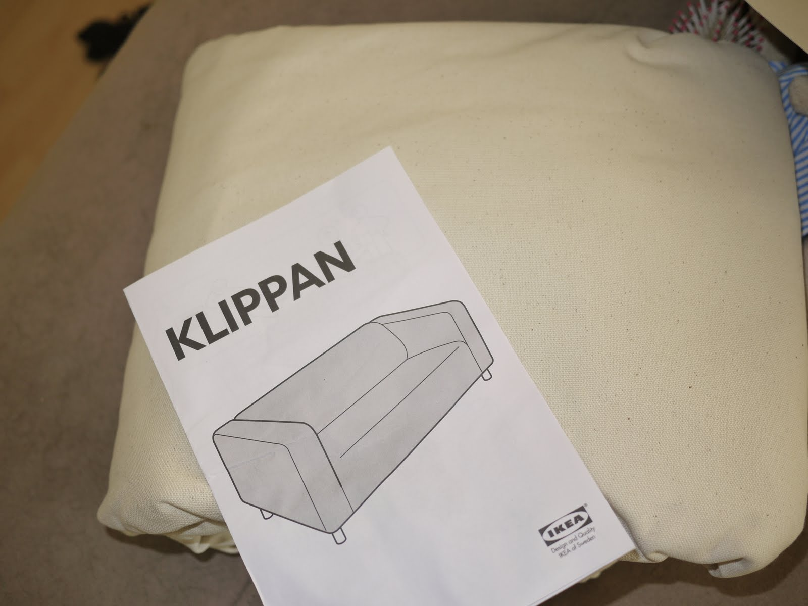 Pembroke Lane Adventures in Dying An Ikea Klippan Loveseat VS ME