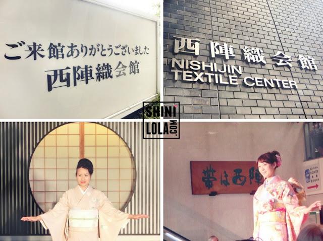 Nishijin Textile Center (西陣織会館)