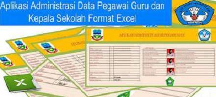 Unduh Aplikasi Administrasi Data Pegawai Guru dan Kepala Sekolah Terbaru