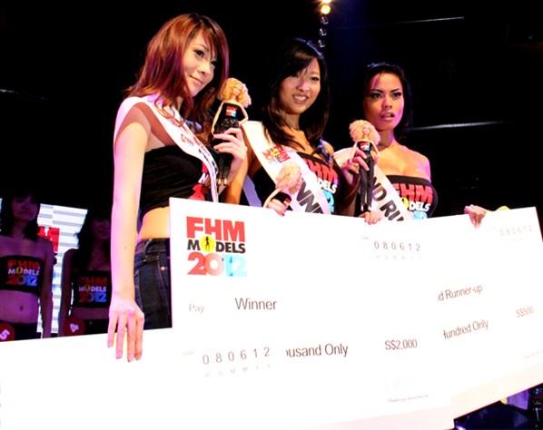 Singapore FHM Models 2012 Winner Jamie Ang Leaked Nude