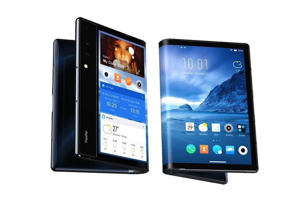 Royole Introduced World's First Foldable Smartphone