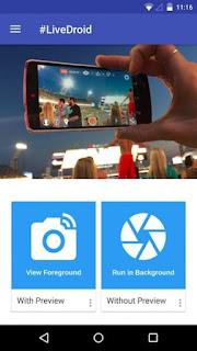 Gunakan ponsel Android Anda sebagai Webcam untuk streaming