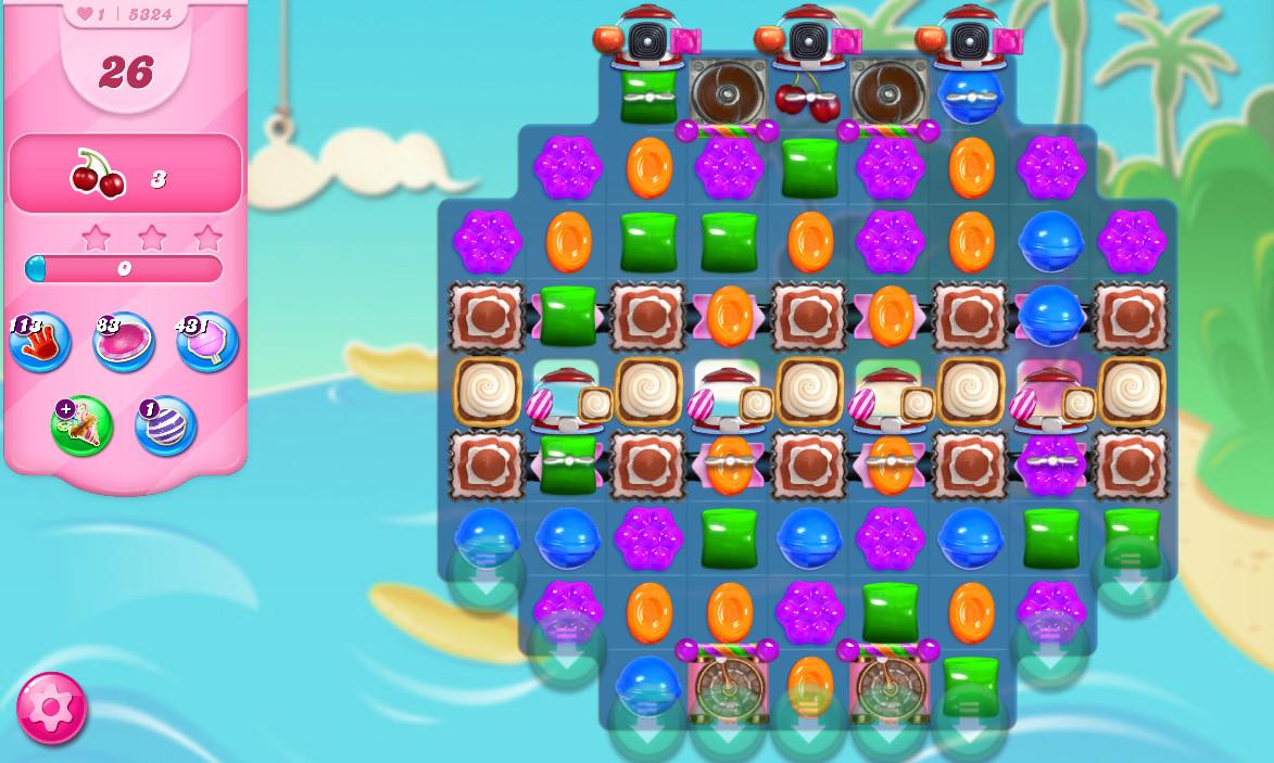Candy Crush Saga level 5324