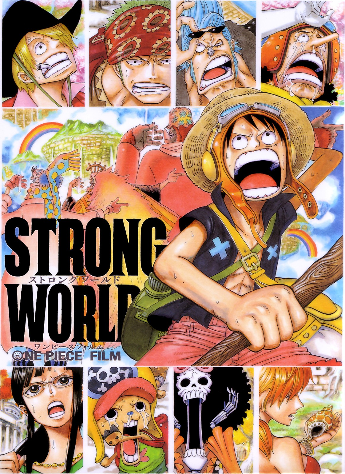 One Piece Film: Strong World (2009) |Castellano| |Película 10| |Mega|