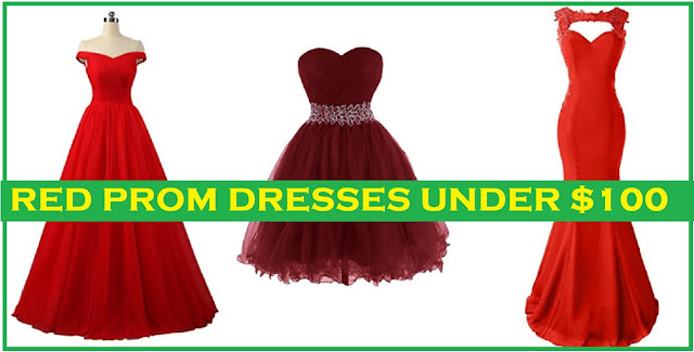 red prom dresses under 100 - red prom dresses 2018