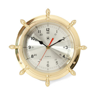 https://bellclocks.com/collections/bey-berk-international/products/class-brass-ships-wheel-clock-bey-berk-sq502