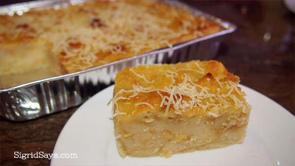 El Ideal bread pudding