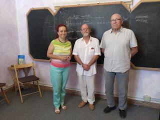 Foto Luis Espiga, Conchy González y Xavier Alà Formación Waldorf Tenerife