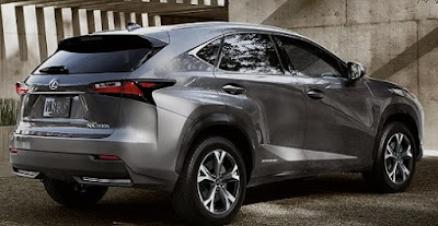 2018 Lexus NX Exterior Preview