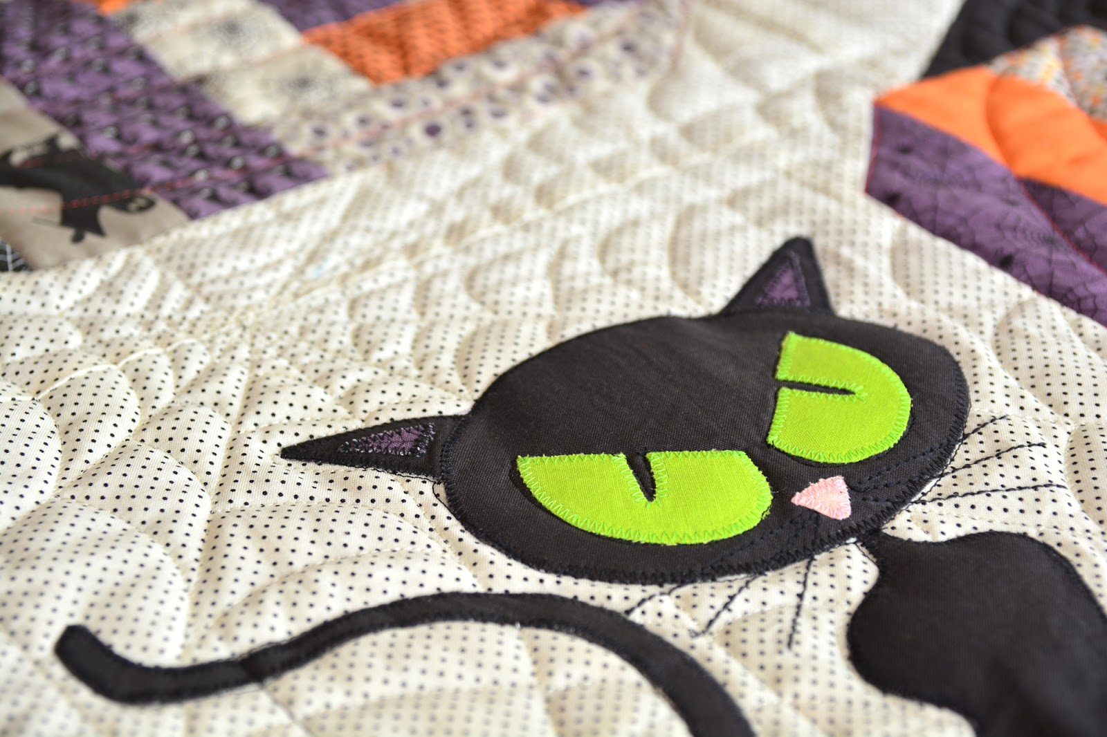 Quilt Oase Nersingen Easypatchwork Bad Kitty In The Pumpkin Patch