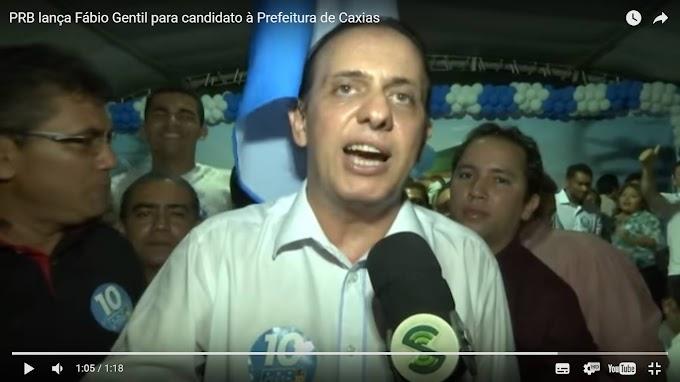 ELEIÇÕES 2016: PRB lança Fábio Gentil para candidato à Prefeitura de Caxias