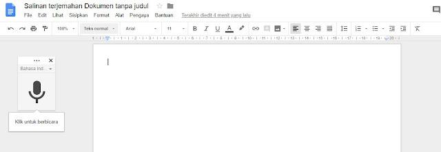 Cara Konversi Suara ke Teks di Google Drive Terbaru