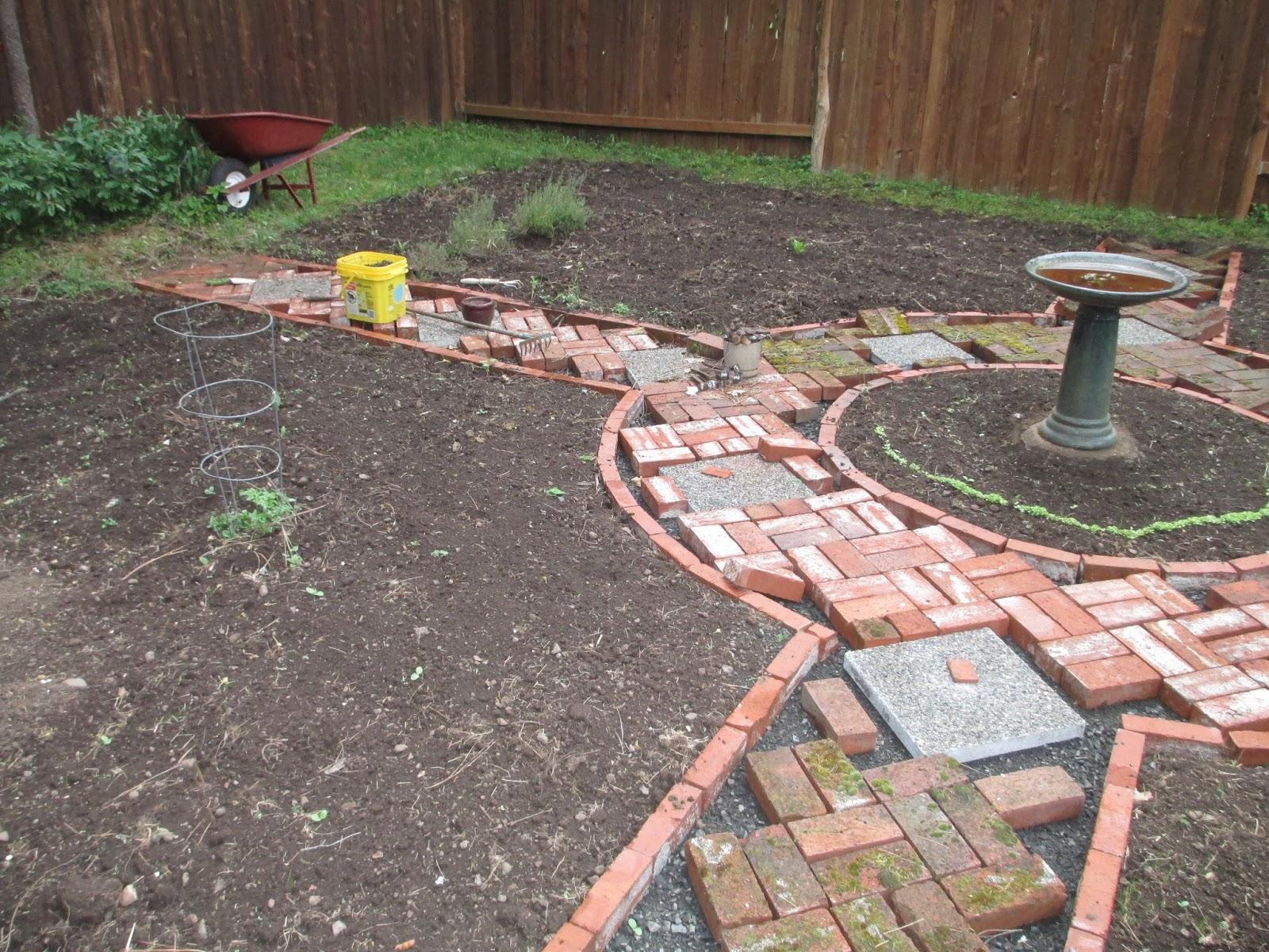 Courtyard Potager Garden Design ~ Revised