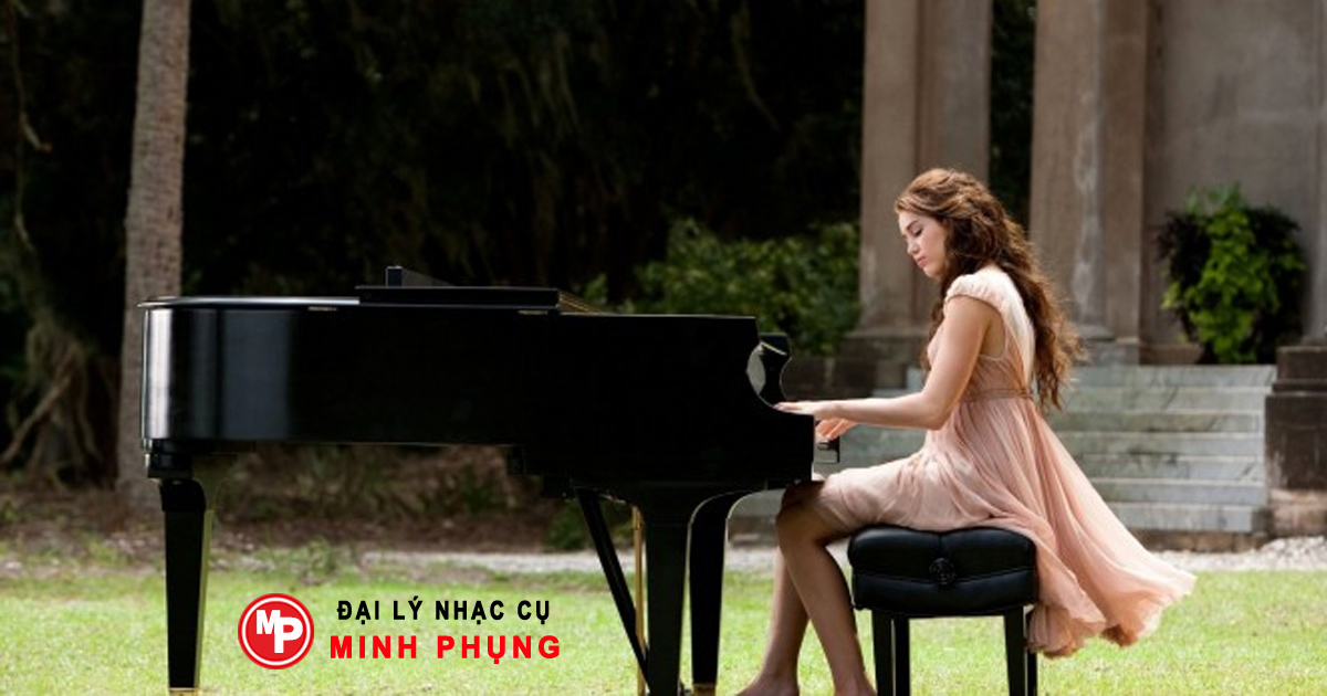 Đàn piano cơ Yamaha Grand C1X PE nổi bật về cả thiết kế và âm thanh