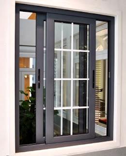 Contoh gambar model kusen aluminium minimalis ykk terbaru dan terbagus sekaligus terbaik.